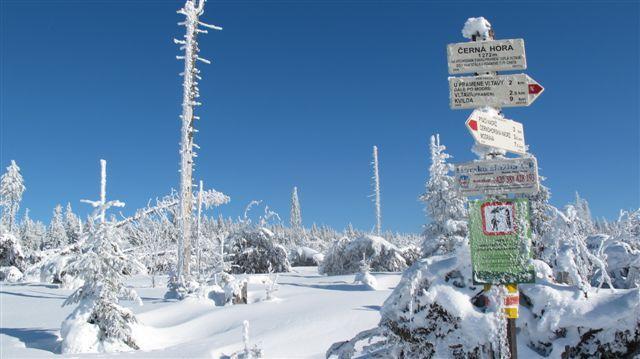 Výsledek obrázku pro šumava zima