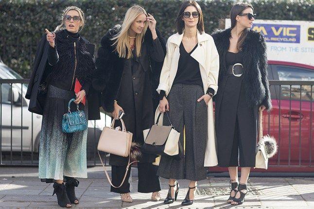 Camila Carril, Nina Suess, Golestaneh Mayer-Uellner &  Zina Charkoplia   LFW