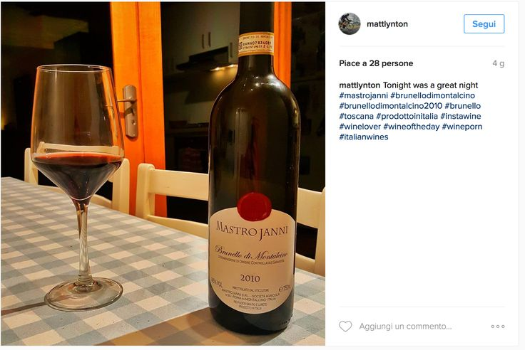 Brunello InstaWineLover