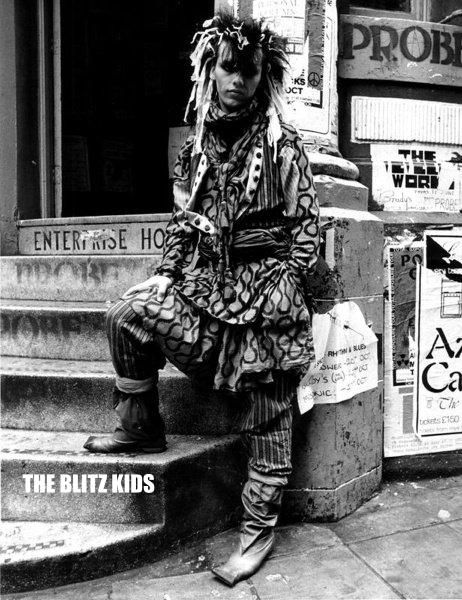 Pete Burns Pirate Squiggle Vivienne Westwood