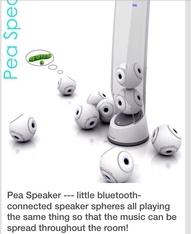 How cool they'll sound from under my couch when the cat bats them under there