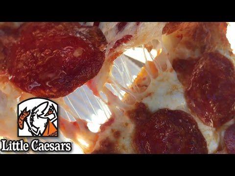 Little Caesars Pepperoni Stuffed Crust DEEP DEEP Pizza