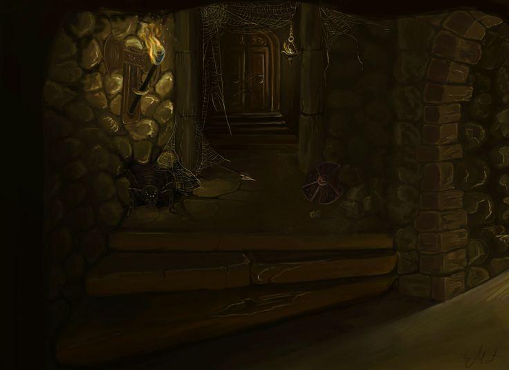 Abandoned dwarves mine.