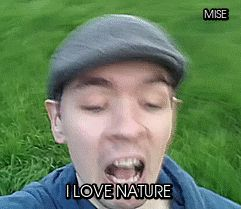 I LOVE NATURE!!! SO MUCH!!!! HELLO BIRDS!!! (video: VLOG: I LOVE NATURE! A Day in the Life of Jack)