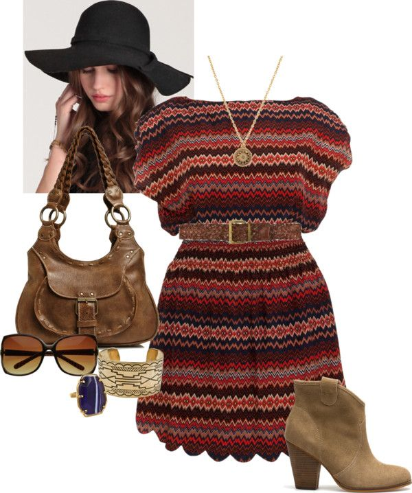 """Boho Dress - Plus Size"" by alexawebb ❤ liked on Polyvore"