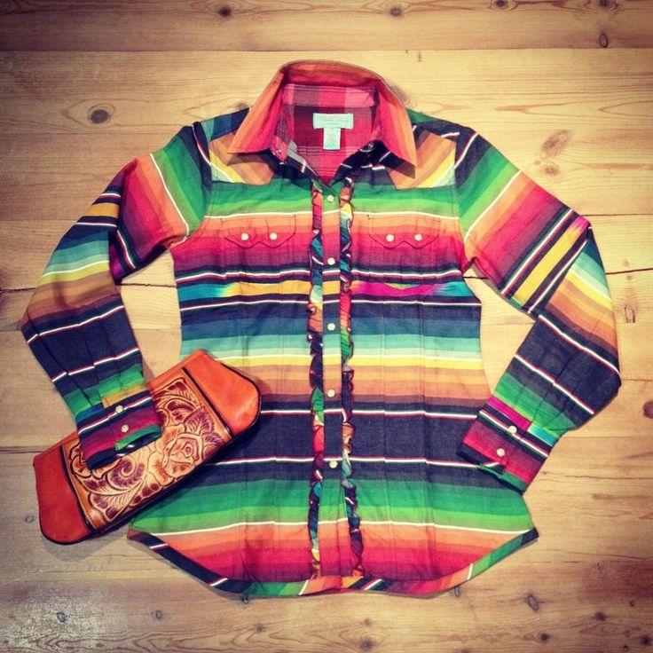 Tasha Polizzi Colt 44 Shirt (Black Serape) Love this shirt!