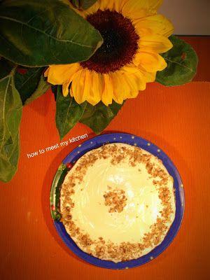 How To Meet My Kitchen: Pumpkin Carrot Cake - Κέικ με κολοκύθα και καρότα