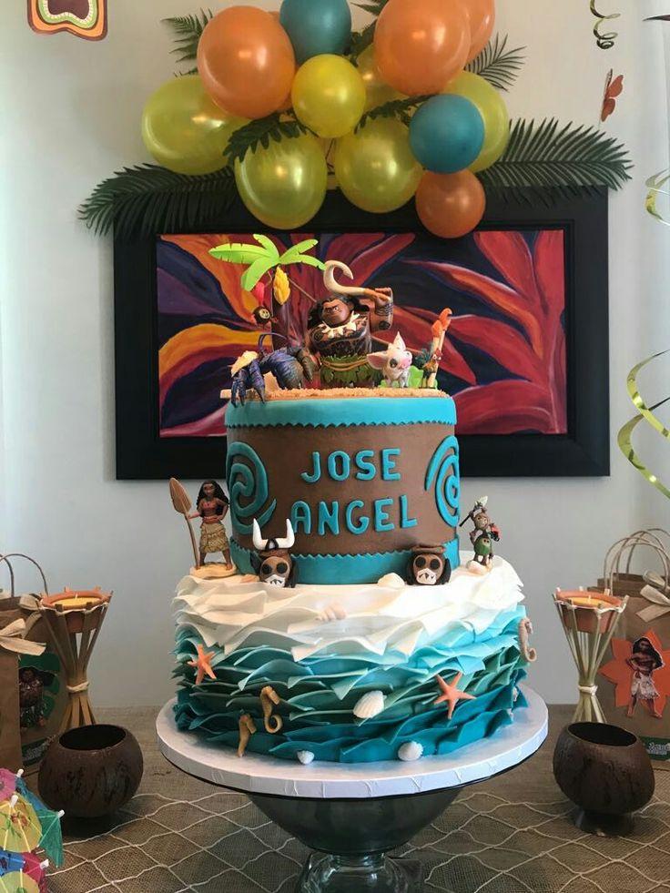 Ja Maui Bday Bizcochos Infantiles Cumplea 241 Os Fiesta