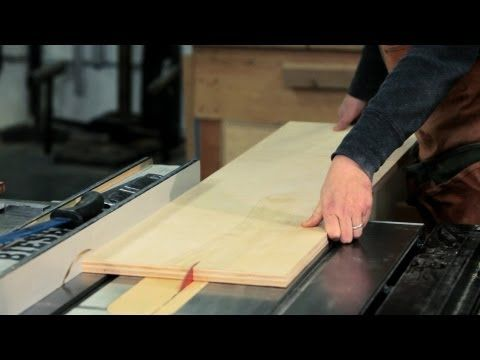 How to Use a Table Saw | Woodworking - YouTube #Woodworking