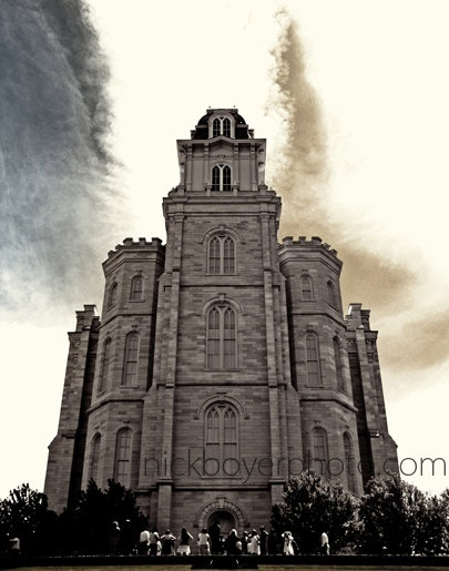 Manti Temple in So. Utah. I was born and raised in Utah and the Mormon Temples are among the most spectacular archetecture in the world. The culture in Utah has inspired/informed much of my writing.