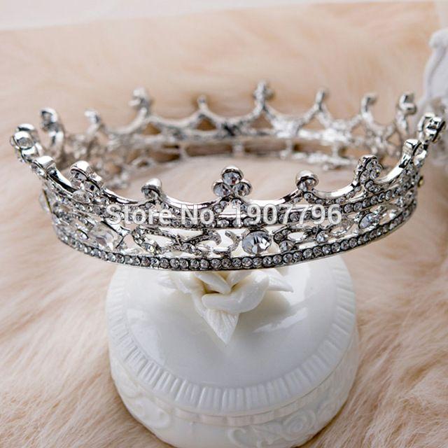 Свадебная тиара с кристалами Корона принцессы Аксессуар для волос
