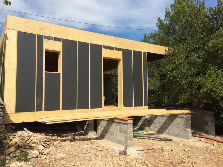 19 best Ossature bois images on Pinterest Build house