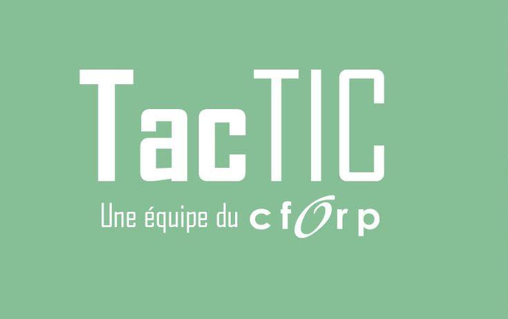 Matrice d'intégration des technologies (MIT) – TacTIC