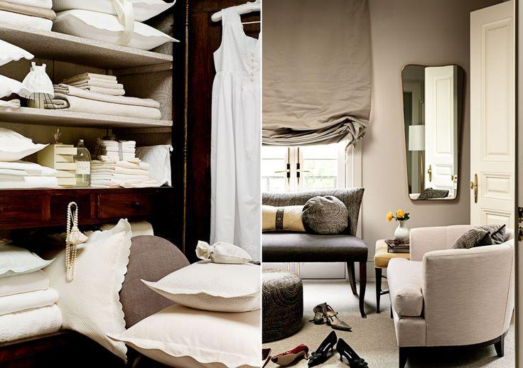 Barbara Barry closet & dressing room