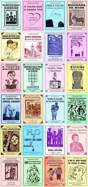 Capas Folhetos Cordel Xilogravuras