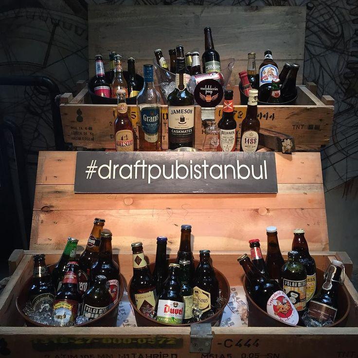 Bugün @birakulubu Dünya Biraları Tadımı için @draftpubistanbul dayız. Birazdan viski üretimi ve bira bitişli viskileri anlatacağım ve viski bitişli 3 bira tadacağız@beerbira @istanbulbeermuseum