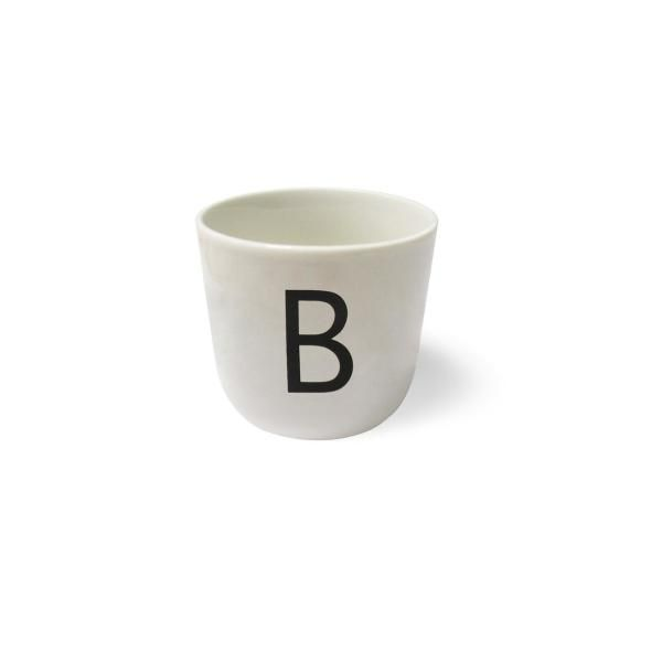 Alphabet drinking cups