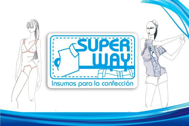 Super Way S.A.S , entretelas, elásticos, encajes, blondas...