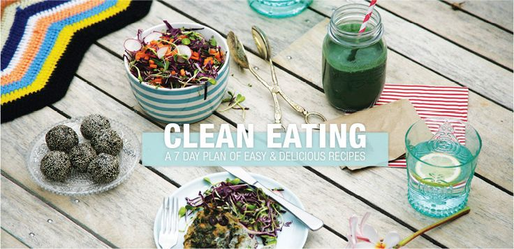 clean eating 7 day plan