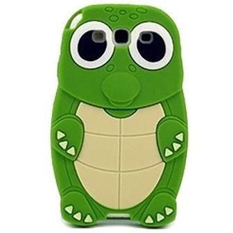 Green Turtle Silicone Skin Case for Samsung Galaxy S3 III *Clearance