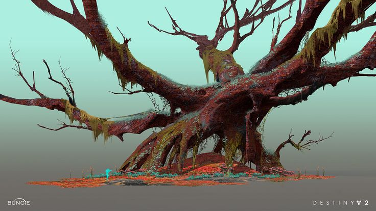 ArtStation - Waterway concept for Nessus in Destiny 2., Sung Choi