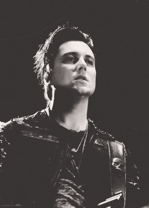 "Synyster Gates,  ""If you prick us we do not bleed? If you tickle us do we not laugh? If you poison us do we not die? And if you wrong us shall we not revenge?"" -William Shakespeare"
