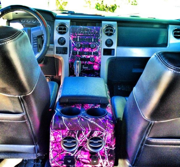 truck interior, hydro dipping