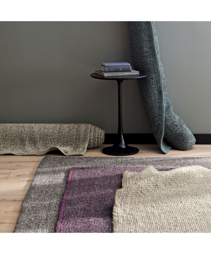 Jasper Taupe Wool-Blend 8'x10' Rug | Crate and Barrel