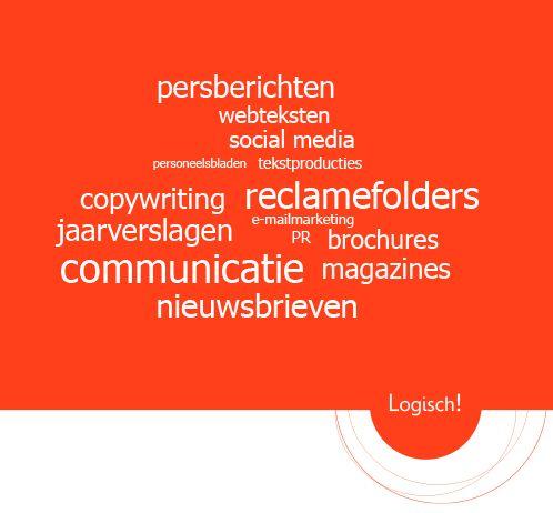 Logisch! Communicatie & Tekstproducties | www.logisch-communicatie.nl