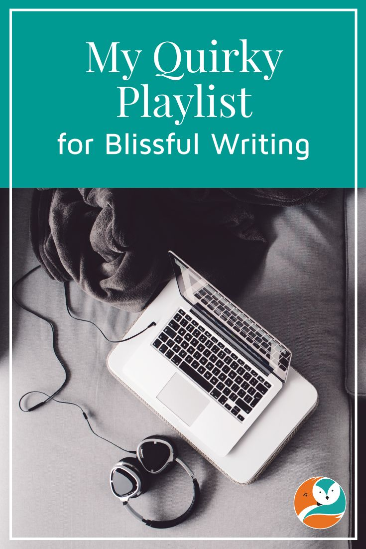 """Today on the blog, I share something completely different.  I have put together a playlist of my """"writing music""""."""