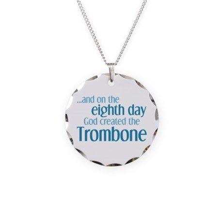 Trombone Creation Necklace on CafePress.com #marchingbandstuff #hornandcastle
