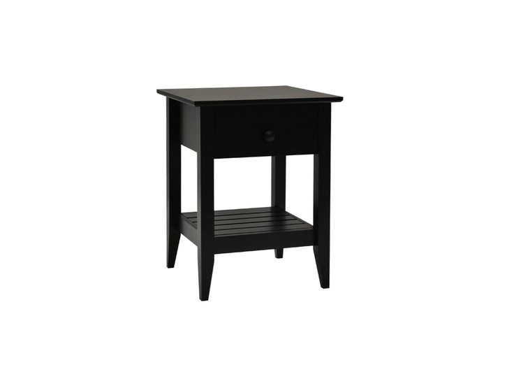 Main Bedroom Rustic 1 drawer pedestal Mhg