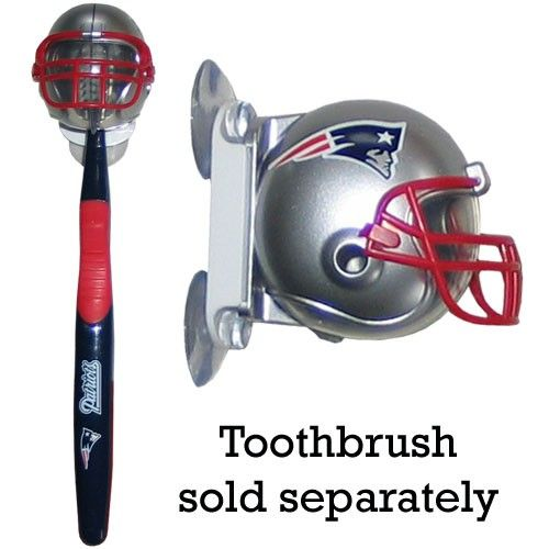 """Checkout our #LicensedGear products FREE SHIPPING + 10% OFF Coupon Code """"Official"""" NFL Toothbrush Holder - Patriots - Officially licensed NFL product Licensee: Siskiyou Buckle   Toothbrushes New England Patriots - Price: $16.00. Buy now at https://officiallylicensedgear.com/nfl-toothbrush-holder-patriots-ffl120"""