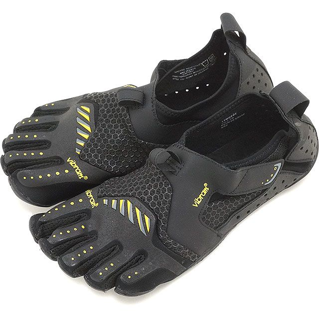 mischief | Rakuten Global Market: Five Vibram FiveFingers vibram five finger gap Dis WMN Signa Black/Yellow vibram five fingers finger shoes base-up feet (13W0201)