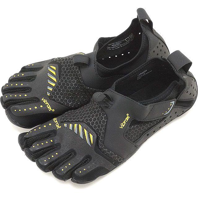 mischief | Rakuten Global Market: Five Vibram FiveFingers vibram five finger gap Dis WMN Signa Black/Yellow vibram five fingers finger shoes base-up feet (13W0201)