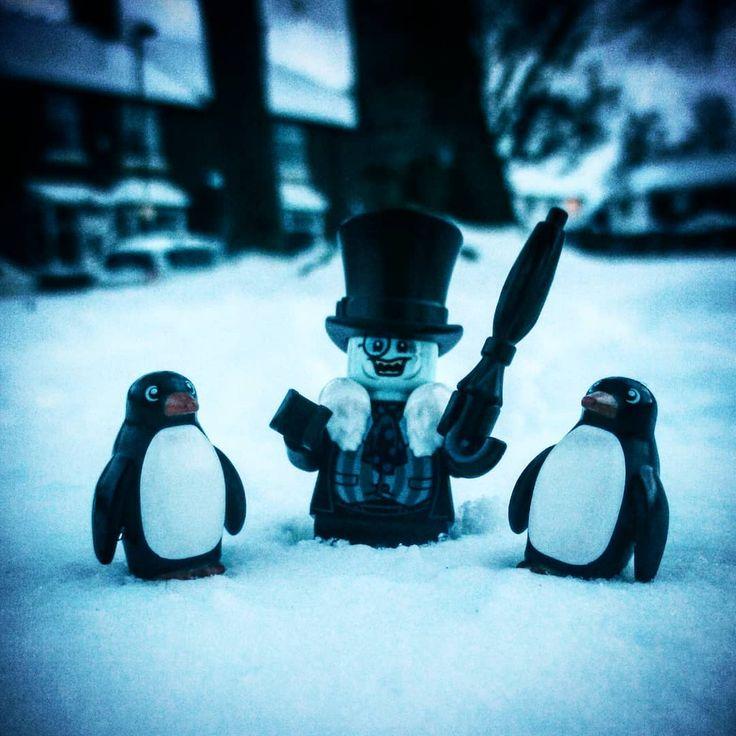 The Penguin's loving all this snowy weather! #thepenguin #penguin #penguins  #batman #dc #dcvillains #snow #beastfromtheeast #thebeastfromtheeast #lego #legominifigures #minifigures #legofun #legoaddiction #legomania #legophotography #picoftheday #photooftheday #legoinsta #legostagram #legogram #legodcsuperheroes #legobatman #thelegobatmanmovie #legobatmanmovie #YESLEGO #myminifigure #legolov3rs @lego @legobatmanmovie @dccomics
