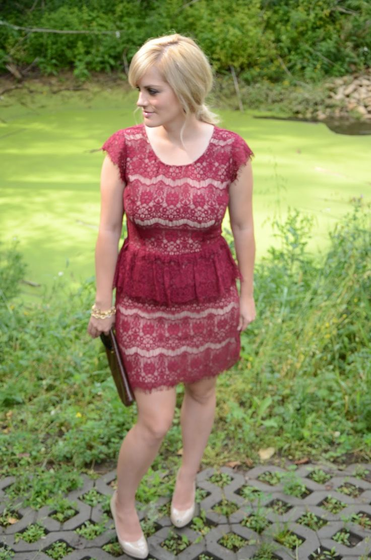 anthro lace dress