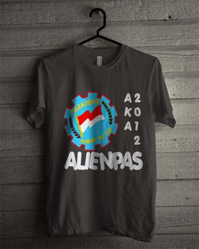 T-shirt Alienpas #1 (Dark Grey)