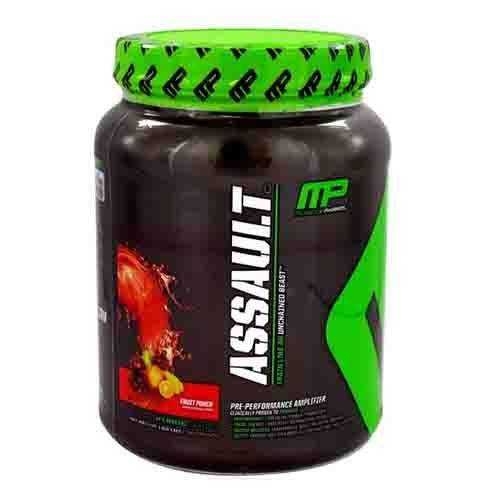MusclePharm Assault is an excellent Pre workout supplement. It is good for health and improves workout levels. Buy MusclePharm Assault online from http://www.wheyproteins.in/products/musclepharm-assault-736g.html