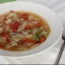 Comfort food on a cold winter's night, cabbage simmered in chicken broth is also an age-old folk remedy for curing the common cold.  Healing Cabbage Soup