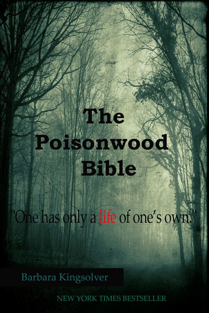 poisonwood bible heart of darkness The colonial novels heart of darkness and a passage to india  the  poisonwood bible is not a postcolonial text because it is written by an.