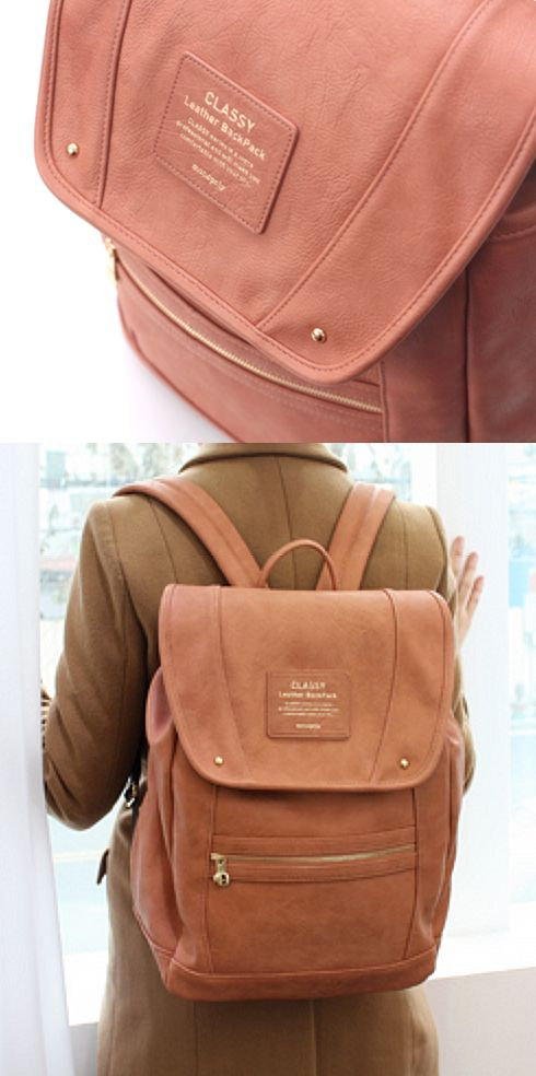 Indian pink backpack!