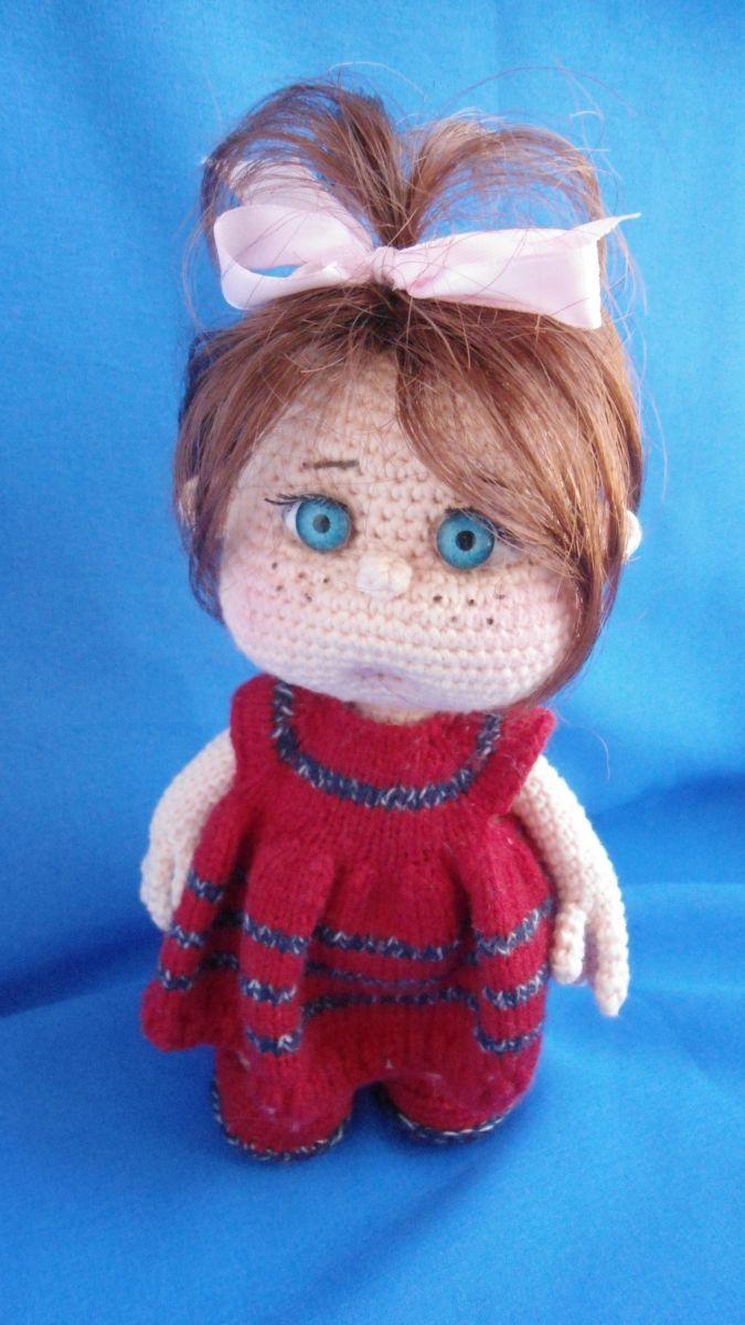 Машенька - Мои вязульки - Галерея - Форум почитателей амигуруми (вязаной игрушки)
