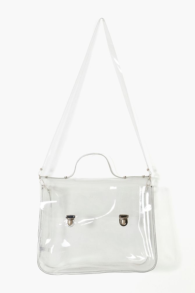 Eye Candy Tote. I have a fixation with transparent bags. They aren't practical at all but there's something about them that strikes me.