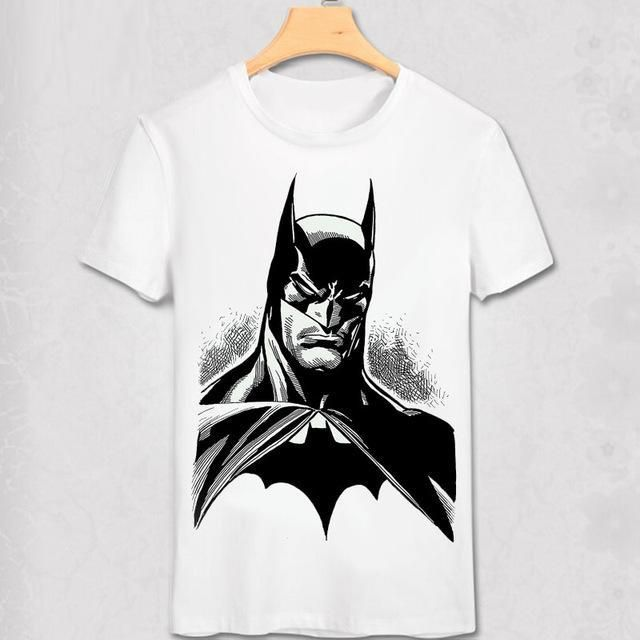 Fashion Cool Man Batman T Shirt batman vs superman T-shirt The Dark Knight Costume 3D Printed Comic Shirt