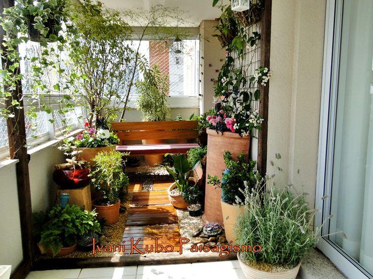 Como fazer um jardim ou horta na varanda de apartamento 8 for Plantas para estanques pequenos