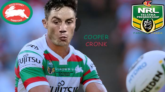 NRL Fantasy Fakes - Cooper Cronk South Sydney Rabbitohs (2018, maybe?)