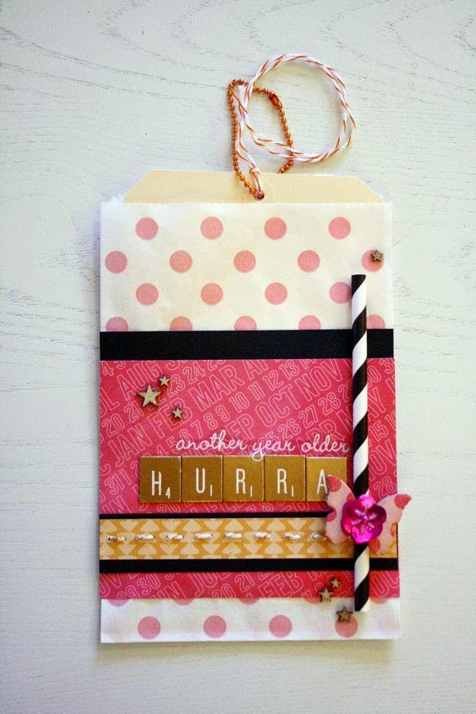 Andrine og Marens Landhandleri - Blog - Paperbag card by Dt Linda.
