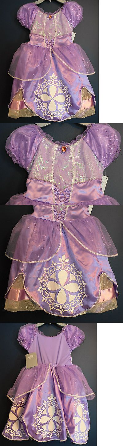 Halloween Costumes Kids: New Disney Store Sofia The First Costume Dress Girls Xs 4 -> BUY IT NOW ONLY: $54.99 on eBay!