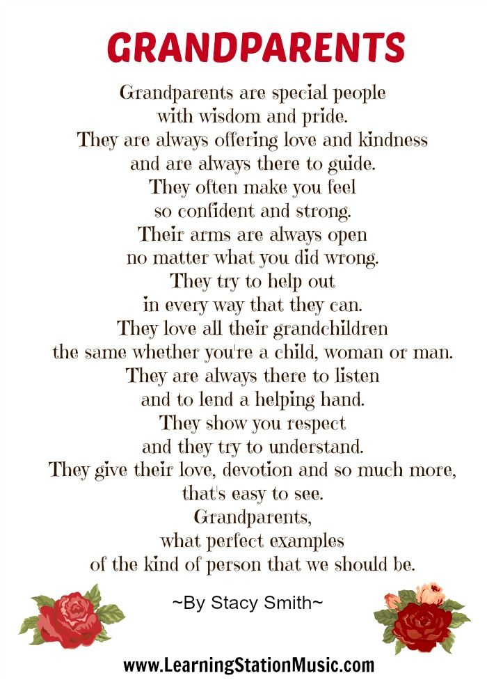 Grandparents poem! A very moving tribute to our grandparents!   #grandparents